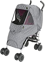 Momnest Weathershield Quilted Baby Stroller Cover for Rain + Snow + Wind, Type M