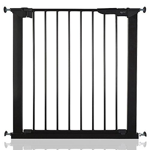 BabyDan Premier Bébé Barrière de Sécurité en pour Escalier Noir 73,5-79,6cm