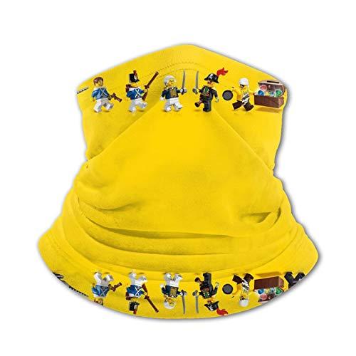 L-E-G-O He-Ro fa-ce cubierta Gesichtsschutzma-sken con filtro-Anti-Nebel-Schal reutilizable lavable, desechable Reino Unido solo protección contra el polvo para adolescentes, niños, niñas bicicleta
