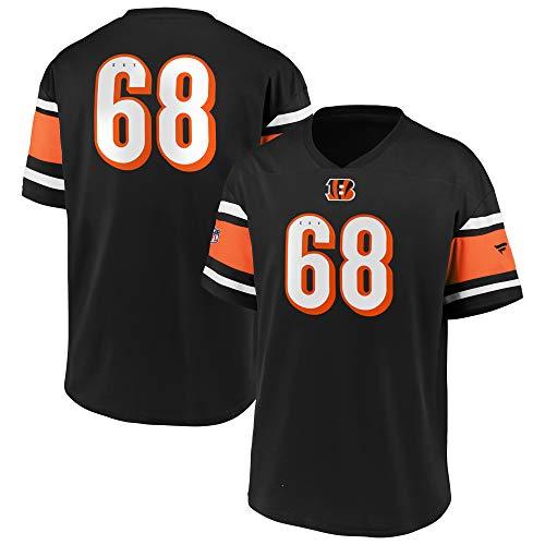 Fanatics NFL Cincinnati Bengals Trikot Shirt Iconic Franchise Poly Mesh Supporters Jersey (L)