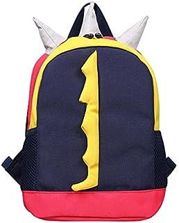 SIZOO - School Bags - Canvas Anti Lost Backpack for Kids Cartoon Children Kindergarten School Bags Dinosaur Backpack for G...