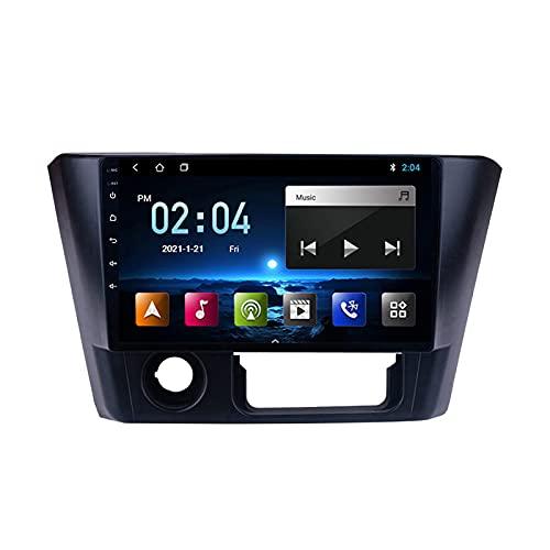 MGYQ 2 DIN Coche Bluetooth GPS Multimedia Car Stereo con Cámara De Visión Trasera Soporte Control del Volante Receptor FM 1080P Video AUX In, para Mitsubishi Lancer 2014-2016,Quad Core,WiFi 1+16