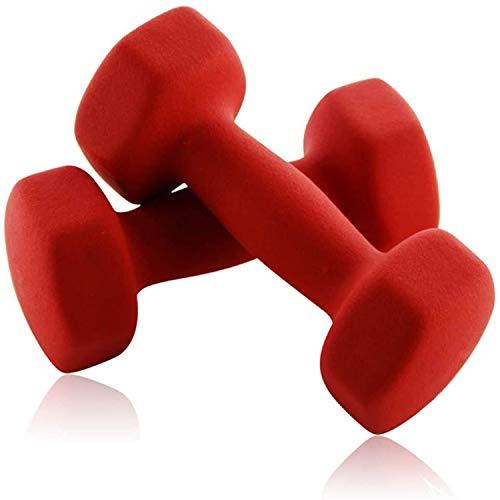 【34% OFF】 - Portzon Set of 2 Neoprene Dumbbell Hand Weights