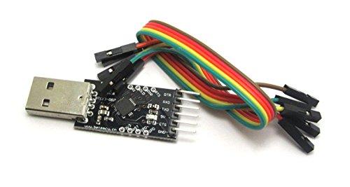 WINGONEER Modulo Convertitore USB a TTL, con CP2102 integrato …