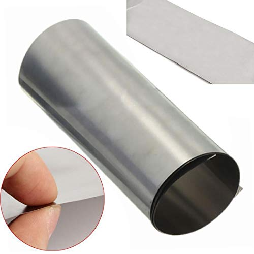 Without brand SSB-JIAODAI, 1 Bogen 0,1 * 100 * 1000mm Ta1 Titan Ti Thin Plate Blatt-Folie for Metallbearbeitung