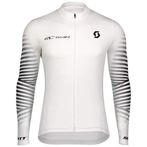 Scott RC Team 10 Fahrrad Trikot lang weiß 2020: Größe: L (50/52)