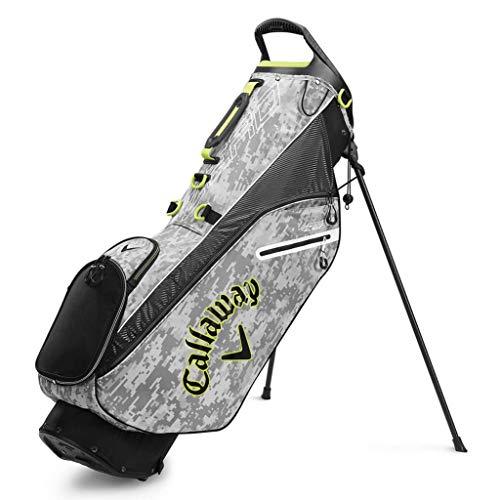 Callaway Golf Hyper Lite Zero Stand Bag 2020, Herren, Golftaschen., Digi Camo, Einheitsgröße