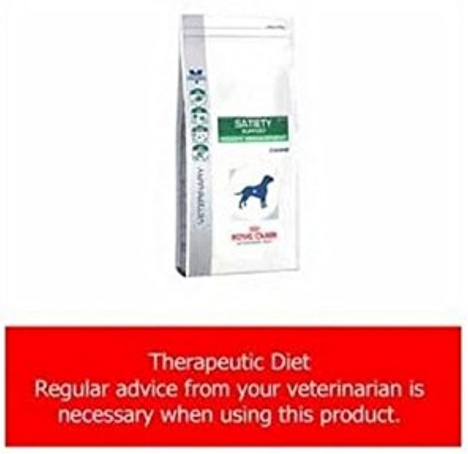 Royal Canin Vet Diet Satiety Support Weight Management Clinical Canine Dry (6kg) (Pack of 2)