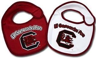Jenkins Enterprises South Carolina Gamecocks Team Logo Baby Bibs - 2 Pack