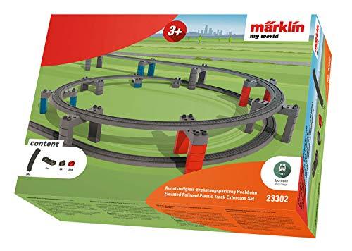 Märklin my world 23302 – Kunststoffgleis-Ergänzungspackung Hochbahn, Spur H0 - 2