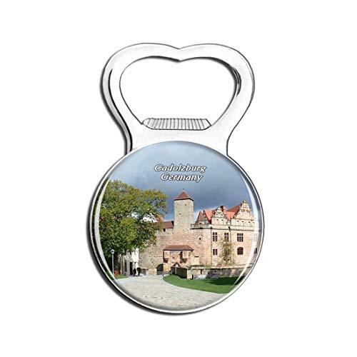 Weekino Schloss Cadolzburg Deutschland Bier Flaschenöffner Kühlschrank Magnet Metall Souvenir Reise Gift
