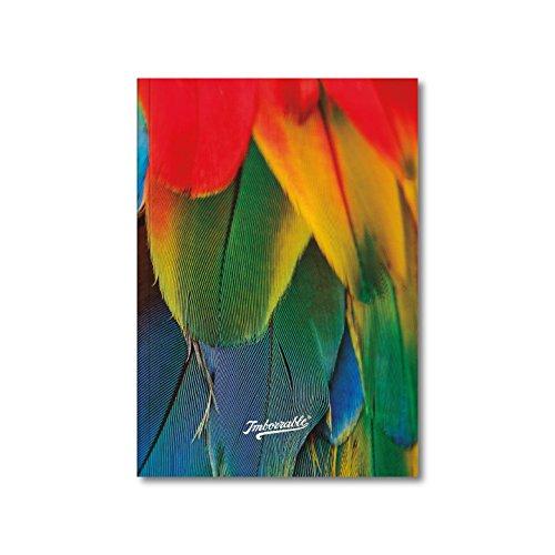 Imborrable Papagayo - Cuaderno de notas con malla de puntos, 144 páginas, A5, 14.8 x 21 cm