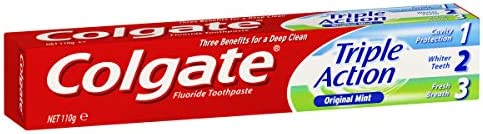 Colgate Triple Action Toothpaste Original Mint