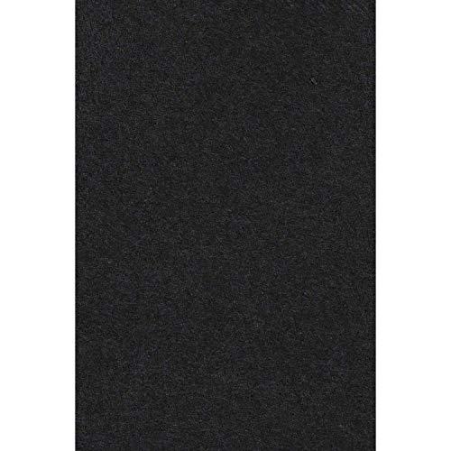 Amscan 57115-10 - Tischdecke schwarz, Größe 137 x 274 cm, aus Papier, für Halloween, Trauerfeier, Tischdekoration
