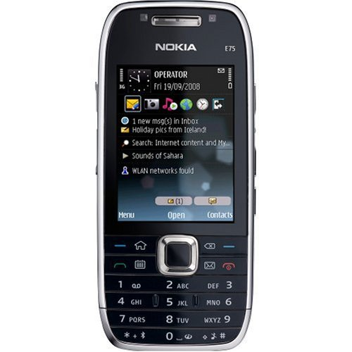 Handy Nokia E75 QWERTY 3,2MegaPixel QuadBand