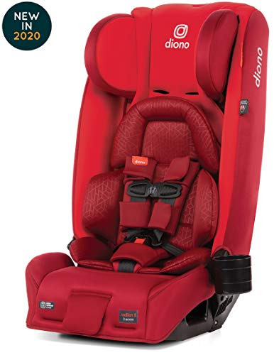 Review Diono Radian 3RXT Latch All-in-One Convertible Car Seat, Red Cherry