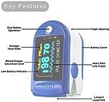 Zoom IMG-1 pulsiossimetro da dito sensore digitale
