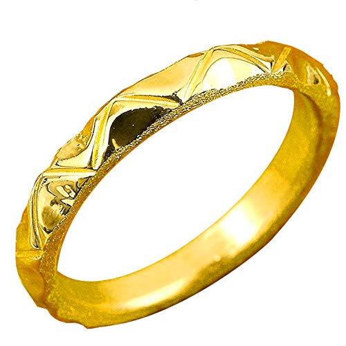 [アトラス]Atrus リング メンズ 純金 24金 ホーニング加工 鏡面加工 地金リング 17-21号 ストレート 指輪 21号