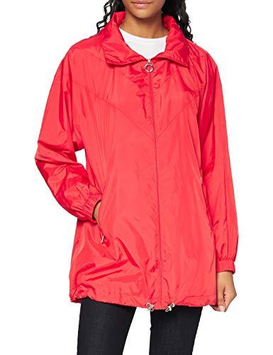 Tommy Hilfiger Damen Susan Packable Parka, Rot (Flame Scarlet 659), 38 (Herstellergröße: M)