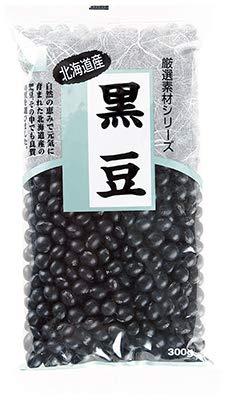 健康フーズの国産黒豆 300g×6個          JAN: 4973044039793