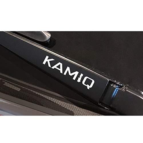 4PCS Auto Window Wiper Autoaufkleber, für Octavia 2 A7 A5 Fabia 3 Rapid Superb 3 Kodiaq Scala Karoq Kamiq Autozubehör