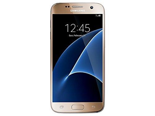 Samsung Galaxy S7 32GB G930A - AT&T Locked - Gold Platinum (Renewed)