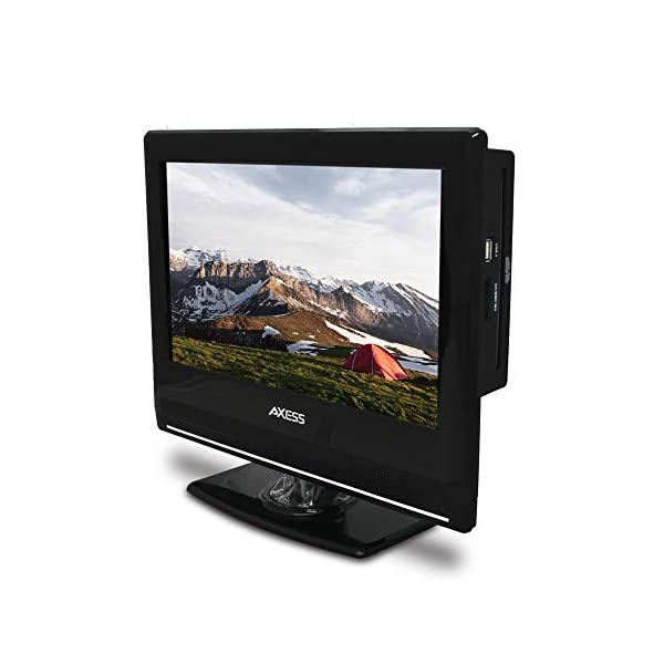 13.3-Inch LED HDTV, Features 12V Car Cord Technology, VGA/HDMI/SD/USB Inputs, Built-in DVD Player, Full Function Remote 3