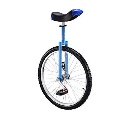 24' Adulti Monocicli Trainer per Bambini Monociclo Regolabile in Altezza Bici di Bicicletta di Esercizio Dell'equilibrio...