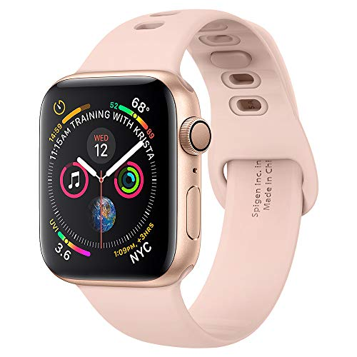 Spigen Air Fit Compatible con Apple Watch Band para 44 mm / 42 mm Serie 5 / Serie 4 / Serie 3/2/1 - Oro Rosa