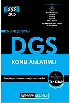 DGS 2015 Konu Anlatımlı
