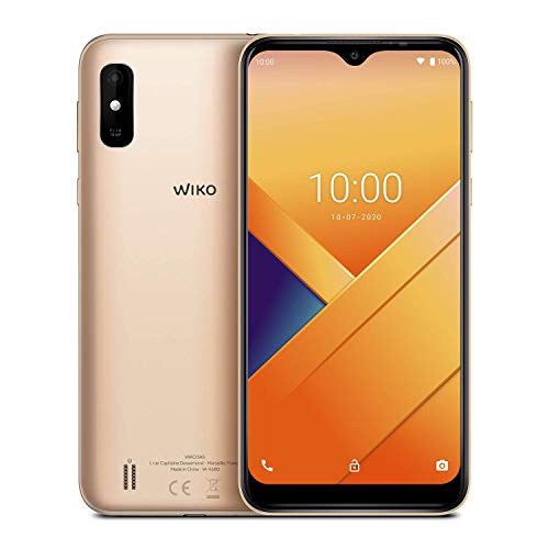 Brodos Y81 Smartphone, 6,2 Zoll (15,75 cm), 4G, Dual-SIM, Android 10, Gold [Import Ware], WIKY81WV680DEBST