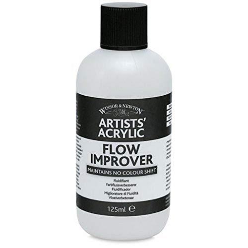Winsor & Newton 3030937 Farbflussverbesserer, Erhöht die Fließfähigkeit von Acrylfarben - 125ml Flasche