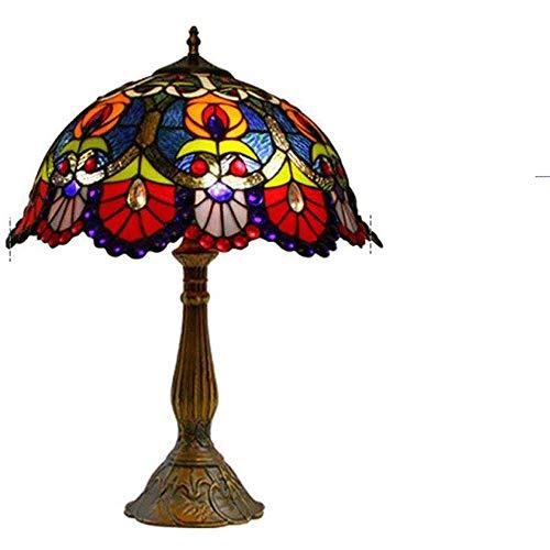 Lámpara de Mesa de Iluminación Decorativa Interior Lámpara de mesa - lámpara de mesa for sala de estar, estilo de país de la lámpara de cabecera for el dormitorio, Pantalla de lámpara y angustiado aca