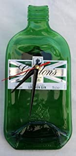 Thorness Gordons Gin bottle wall clock