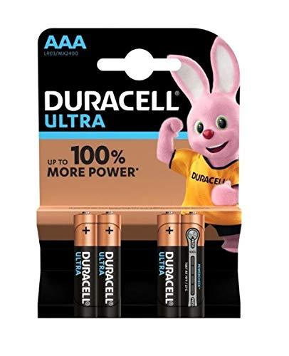 BLISTER DURACELL ALCALINA ULTRA POWER AAA (LR03) K4 (4 PILAS)