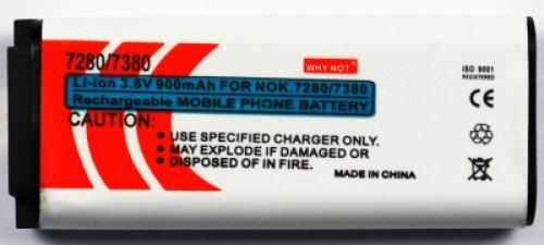Batteria per Nokia 7280-7380 Lion 900mAh (Tipo BL-8N)