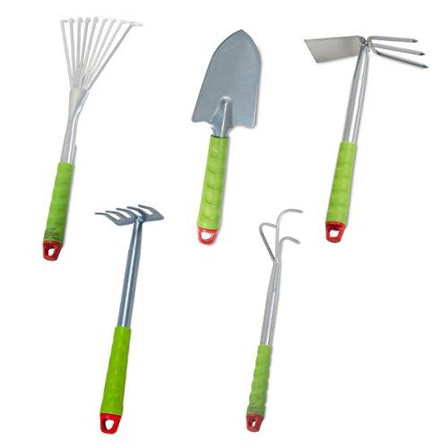 Windhager Gartenwerkzeug-Set | Kleingeräte für den Garten | Gartengeräte | 5-teilig | 93170
