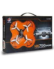X ZINI HX750 Drone 2.6 Ghz 6 Channel Remote Control Quadcopter Stable Remote-Control Quadcopter with Two Extra Blades (Multicolor)