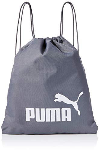 Puma Phase Gym Sack Bolsa De Cuerdas, QUIET SHADE-Puma White, OSFA