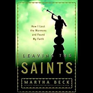 Leaving the Saints audiobook cover art