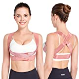 Posture Corrector for Women, CADIFET Adjustable Upper Back Brace for Chest Support and Straighten Posture Bra for Women - Providing Back Neck Shoulder Upright Straightener