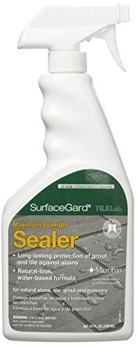 24-Ounce Surface Gard Sealer, 24 Oz, Clear - CUSTOM BLDG PRODUCTS TLSGS24Z
