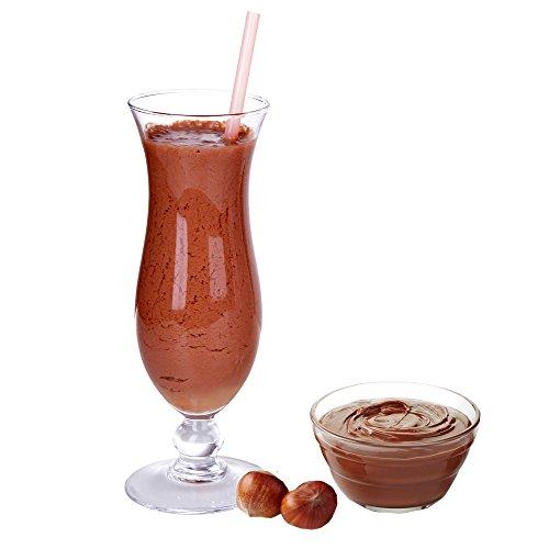Nuss Nougat Creme Molkepulver Luxofit mit L-Carnitin Protein angereichert Wellnessdrink Aspartamfrei Molke (Nuss Nougat Creme, 1 kg)