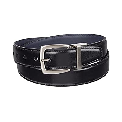 Dockers Big Boy's Dockers Reversible Black-to-Brown Belt , black/navy, Meduim (26-28 Inches)