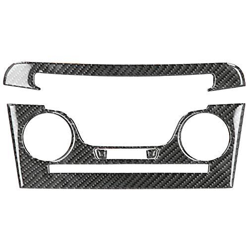 Qqmora Reemplazo Sophisticate Resistente 4 Piezas de Panel de Aire Acondicionado antidesgaste portátil para Cargador 2011-2014 para su vehículo
