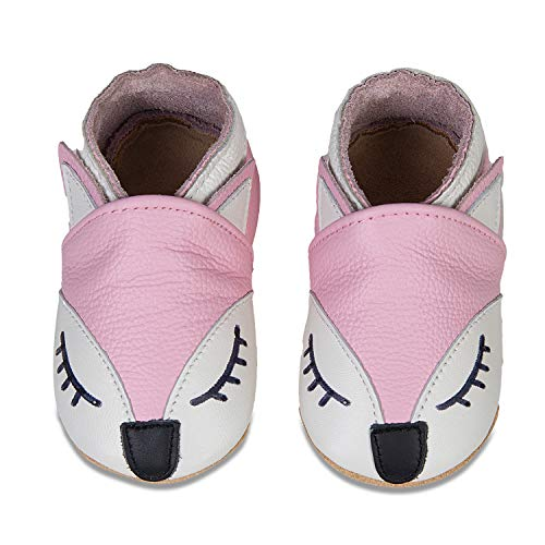 Baby Schoenen Zacht Leer Baby Jongens Eerste Wandelschoenen Meisjes Peuter Schoenen Suede Zolen 0-6 Maanden tot 18-24 Maanden Baby