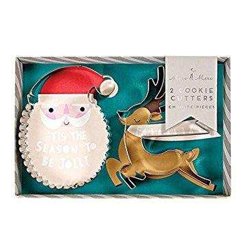 Christmas Cookie Cutters (2) - Be Jolly by Meri Meri