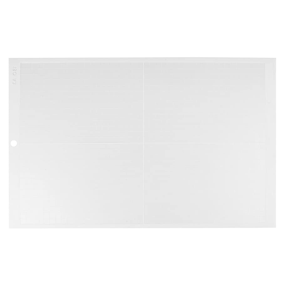 TOPINCN Non Slip Cutting Mat Professional Self Healing Cut Pad Board for Vinyl Cutter Plotter Non-Slip A3 18 x 12inch(White) x871764084