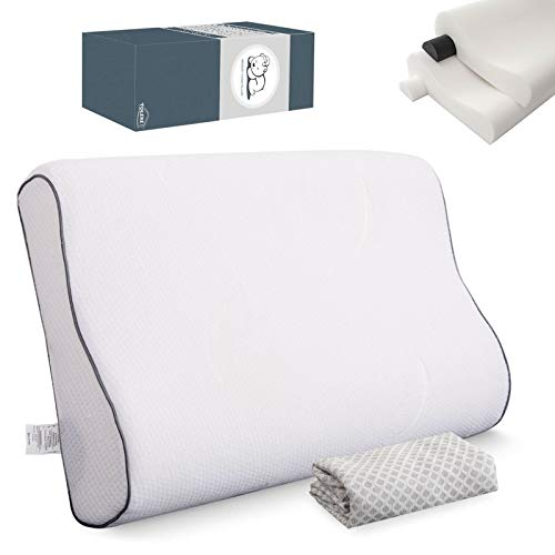 TOLEKE Bed Pillows for Sleeping ,Memory Foam Neck Support...