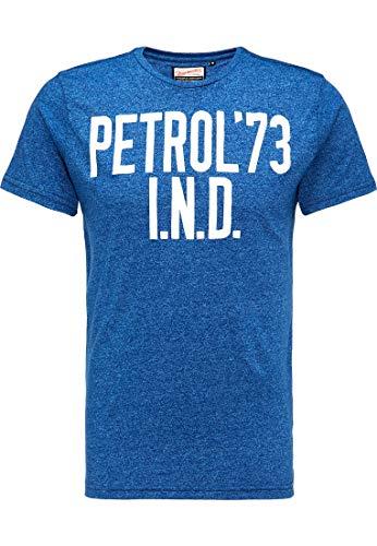 Petrol Industries MEN Camiseta para hombre M-SS18-TSR638 capri L